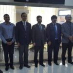 Delegation from Gilgit visiting COE-CPEC