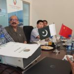 Meeting with China Gezhouba