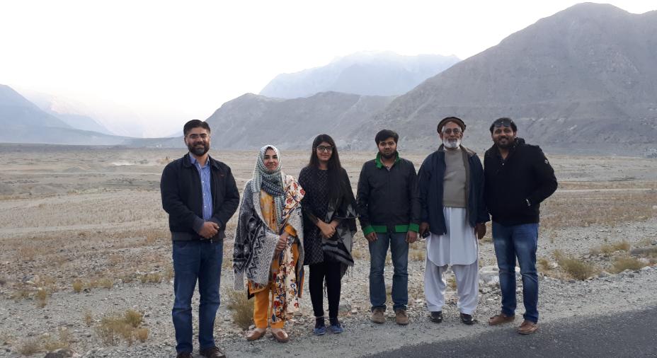 Field Visit to Maqpoondas Special Economic Zone, Gilgit Baltistan by CoE-CPEC Delegates