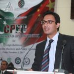 Musatafa Haider Syed, Executive Director, Pak-China Institute sharing his valuable views on CPEC